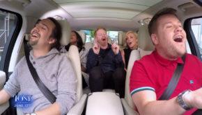 James Corden Brings Broadway To His Karaoke Carpool