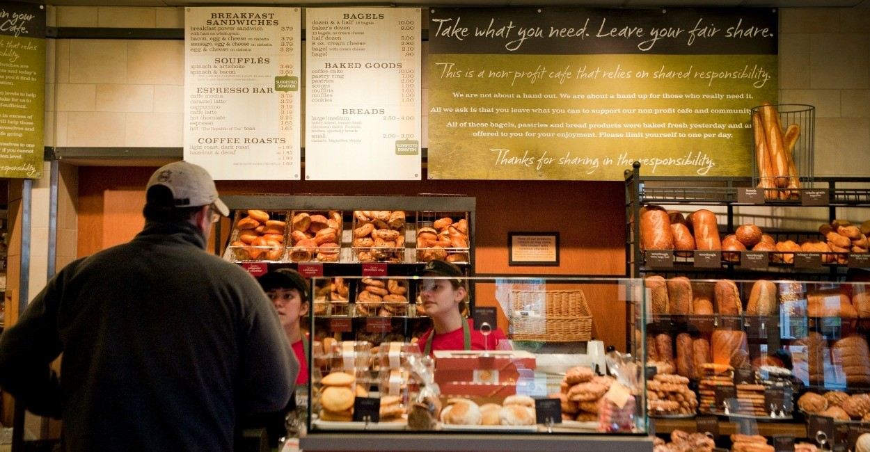 panera bread 4 essay Essay topic questions ~ must be at least 250 words on april 16th and invited to the panera bread knead for knowledge scholarship dinner on thursday, may 10th.