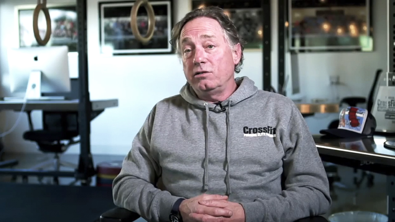 There s something very ironic about crossfit founder