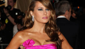 Soon To Be First Lady Melania Trump Has Posed Naked