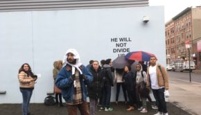 Shia Lebeouf Is Standing Up To President Donald Trump With Art