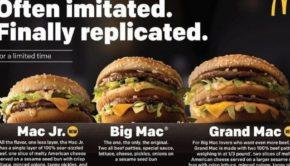 McDonald's (MCD) Just Unveiled Two New Big Macs