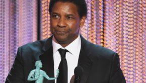Denzel Washington Was Shocked That He Won A SAG Award
