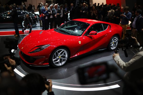 Ferrari just unleashed the fastest production car in its for Wall street motor cars