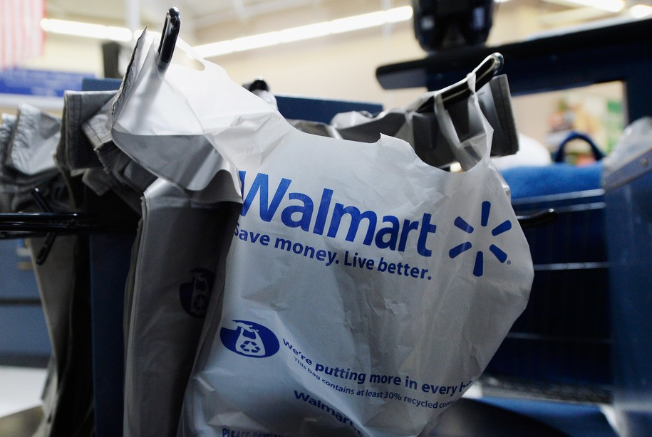 6629e8371b Wal-Mart Saved This Much By Changing its Plastic Bags and Shortening  Receipts