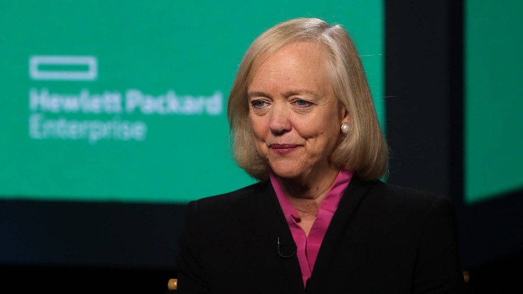 learning and meg whitman