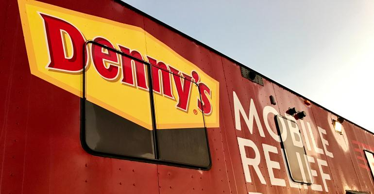 Denny's is Doing This to Help Victims of Hurricane Florence